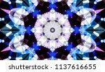 geometric design  mosaic of a...   Shutterstock .eps vector #1137616655