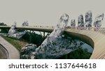 ba na hills   danang   vietnam  ... | Shutterstock . vector #1137644618