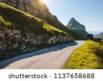 splendid summer day in the... | Shutterstock . vector #1137658688