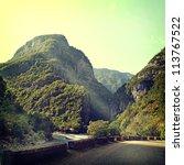 vintage nature background | Shutterstock . vector #113767522