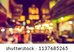 abstract blurred image of... | Shutterstock . vector #1137685265