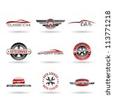 car service and repairing icon... | Shutterstock .eps vector #113771218