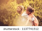 mother and daughter have fun.... | Shutterstock . vector #1137741512
