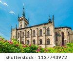 st james church  policka  town... | Shutterstock . vector #1137743972