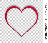 Simple Vector Heart Isolated O...