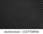 uniform corrugated texture of... | Shutterstock . vector #1137758906