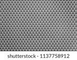 uniform corrugated texture of... | Shutterstock . vector #1137758912