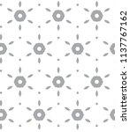 geometric ornamental vector... | Shutterstock .eps vector #1137767162