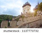 karlstejn    september 25  2014 ... | Shutterstock . vector #1137773732