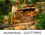 stone architecture made by the... | Shutterstock . vector #1137773942