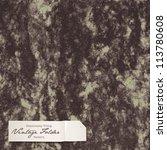 seamlessly tiling vintage... | Shutterstock .eps vector #113780608