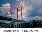 the vidyasagar setu or  second... | Shutterstock . vector #1137822896