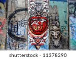 A Piece Of Berlin Wall In...