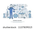 business coaching. corporate...   Shutterstock .eps vector #1137839015