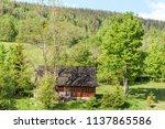 farm architecture in village... | Shutterstock . vector #1137865586