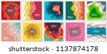 vector collection of 10... | Shutterstock .eps vector #1137874178