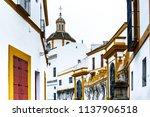 maestranza in sevilla  spain ...   Shutterstock . vector #1137906518