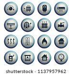 heating web icons for user... | Shutterstock .eps vector #1137957962