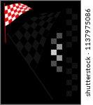 race flag various designs ... | Shutterstock .eps vector #1137975086