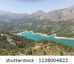 guadalest valley  alicante ... | Shutterstock . vector #1138004822