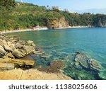 mountain beach mogren. the... | Shutterstock . vector #1138025606