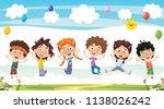 vector illustration of cartoon...   Shutterstock .eps vector #1138026242