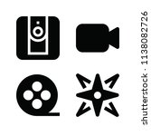 filled technology icon set such ... | Shutterstock .eps vector #1138082726