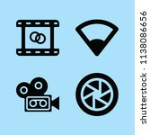 filled technology icon set such ... | Shutterstock .eps vector #1138086656