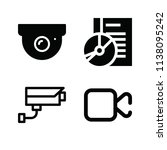 filled technology icon set such ... | Shutterstock .eps vector #1138095242