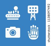 simple set of technology vector ... | Shutterstock .eps vector #1138097492
