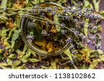 cup of tea lavender provence... | Shutterstock . vector #1138102862