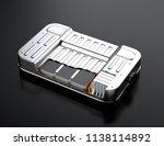 cutaway view of electric... | Shutterstock . vector #1138114892
