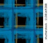 plaid. seamless grunge pattern... | Shutterstock .eps vector #1138169288