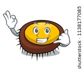 call me sea urchin mascot... | Shutterstock .eps vector #1138177085