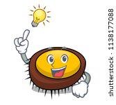 have an idea sea urchin mascot... | Shutterstock .eps vector #1138177088