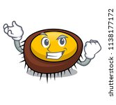 successful sea urchin character ... | Shutterstock .eps vector #1138177172