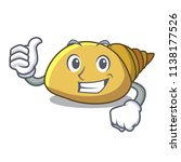 thumbs up mollusk shell... | Shutterstock .eps vector #1138177526