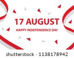 happy independence day of...   Shutterstock .eps vector #1138178942