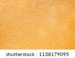 old yellow sponge texture... | Shutterstock . vector #1138179095