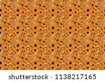 seamless pattern with... | Shutterstock . vector #1138217165
