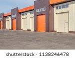 orange and white roller... | Shutterstock . vector #1138246478