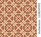 vector modern tiles pattern.... | Shutterstock .eps vector #1138249592