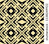 vector modern tiles pattern.... | Shutterstock .eps vector #1138249922