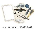 illustration of charcoal...   Shutterstock .eps vector #1138253642