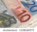 money euro 5 10 20 | Shutterstock . vector #1138260575