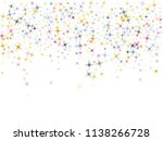 blue pink gold vector star... | Shutterstock .eps vector #1138266728