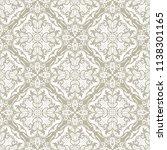 orient vector classic pattern....   Shutterstock .eps vector #1138301165