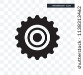 cogwheel vector icon isolated... | Shutterstock .eps vector #1138313462