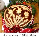 ukrainian handmade festive... | Shutterstock . vector #1138349306