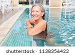 vital senior woman at the... | Shutterstock . vector #1138356422